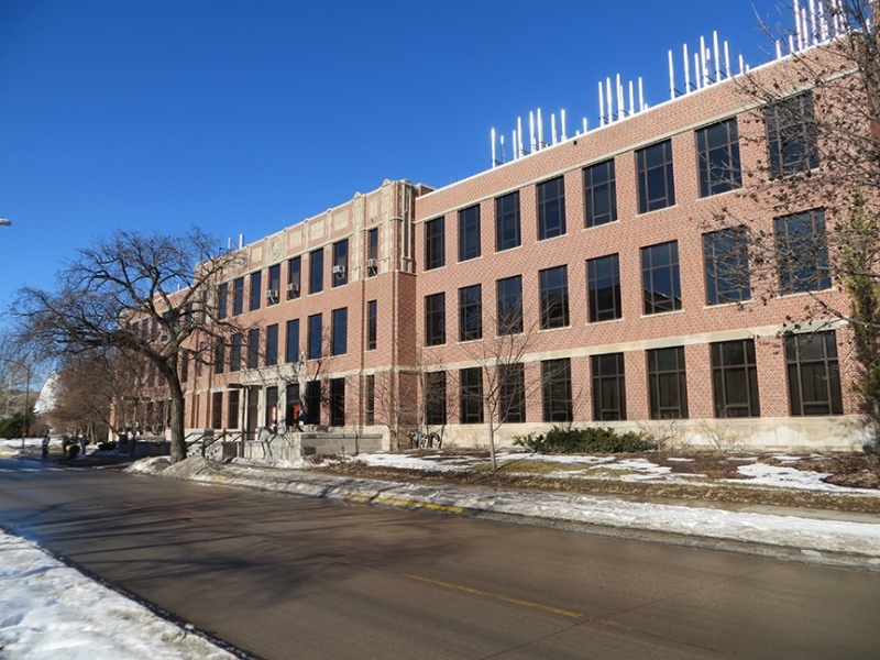 Ames IA - Iowa State University - Gilman Hall