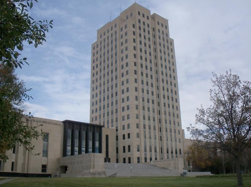 Bismarck ND - State Capitol