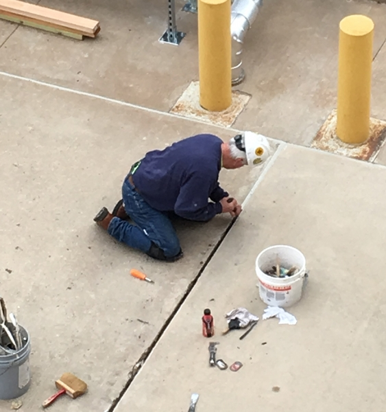 Preparing a joint for Sealant Installation