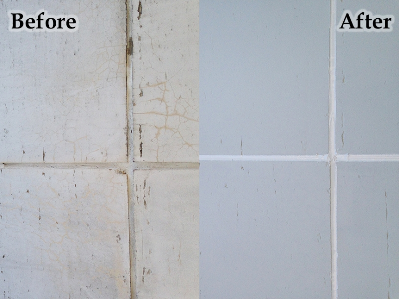 Sealant Installation - Before/After