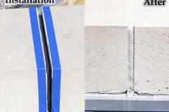 Sealant Installation - Installation/After