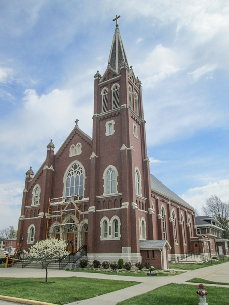 Emporia KS - Sacred Heart Church
