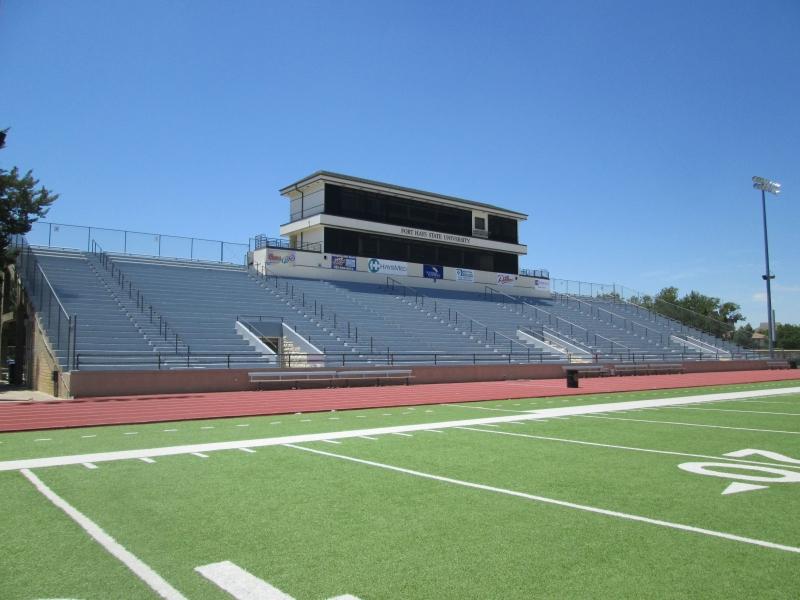 Hays KS - FHSU Lewis Field Stadium