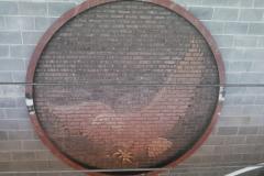 Joplin MO - High School Eagle Sign