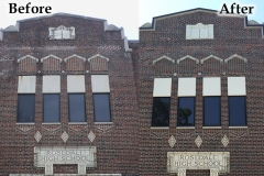 Pointing - before and after