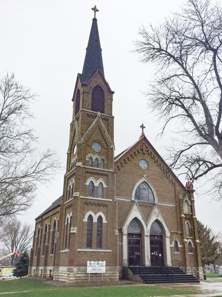 Mapleton IA - St. Mary's Catholic Church