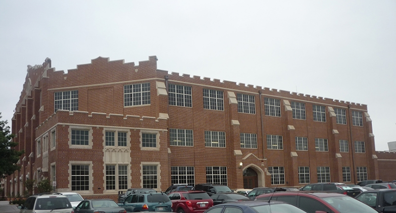 Norman OK - University of Oklahoma - McCasland Fieldhouse