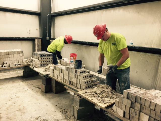 Training-Bricklaying