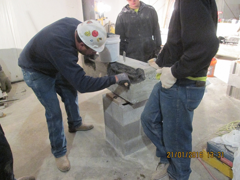 Concrete Patching Training