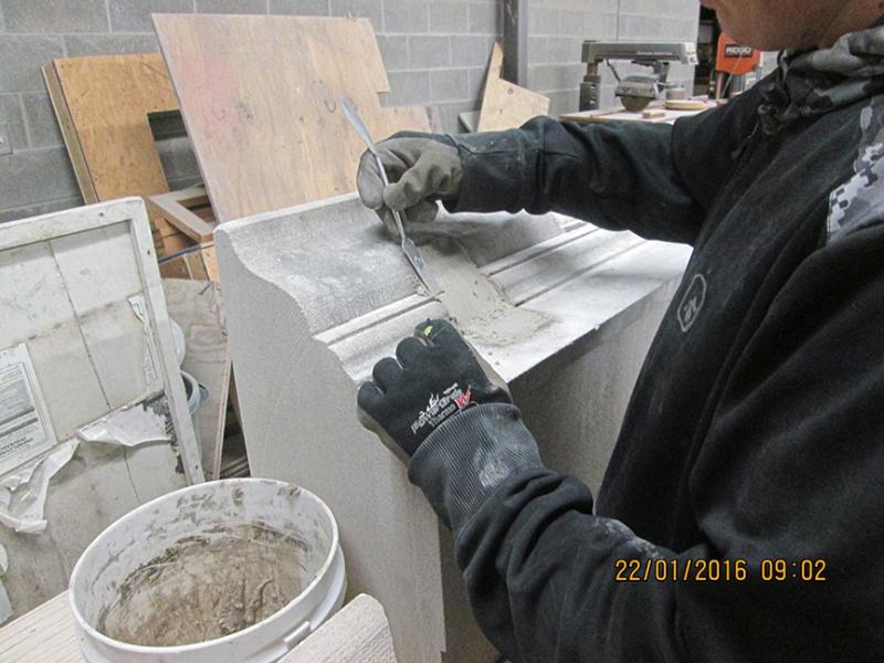 Limestone Patching Training