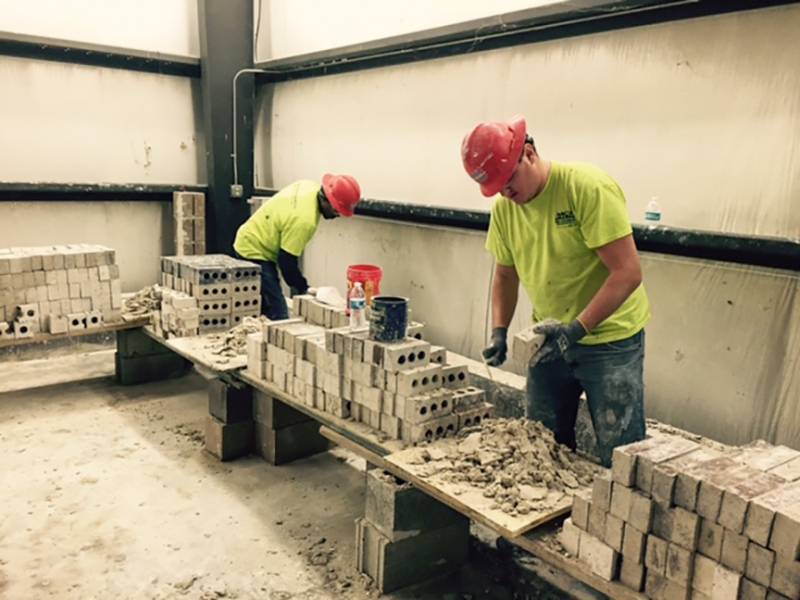 Brick Laying Training