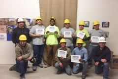 Graduating Class from Skills Training
