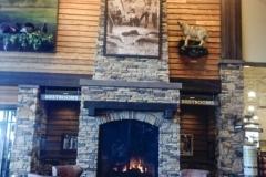 Oklahoma City OK - Cabelas Fireplace